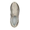 Sneakers dorate da bambina con cerniere, 321-8255 - 19