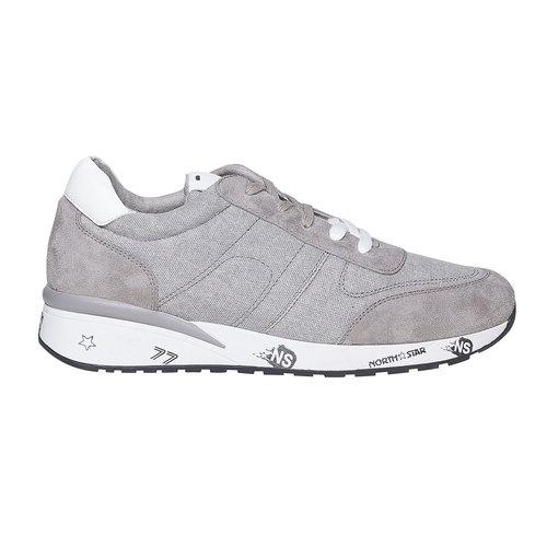 Sneakers grigie da uomo north-star, bianco, 849-1501 - 15