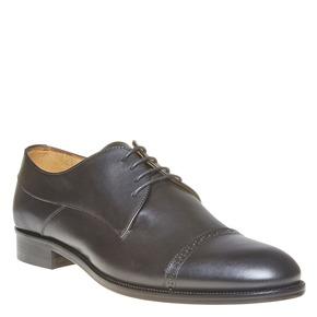 Scarpe basse da uomo in stile Derby bata-the-shoemaker, nero, 824-6296 - 13