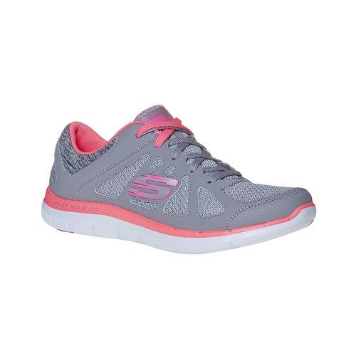Sneakers sportive da donna skechers, grigio, 509-2963 - 13