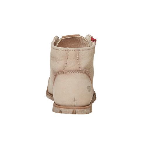 Scarpe da donna alla caviglia weinbrenner, beige, 596-8103 - 17