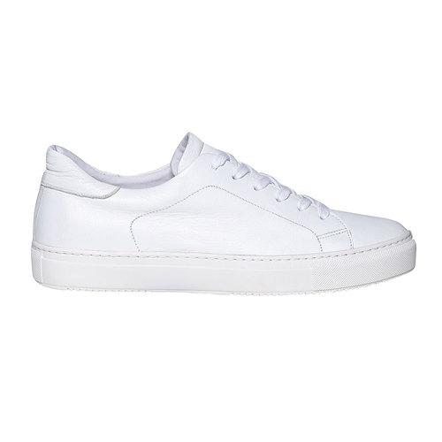 Sneakers da uomo in pelle bata, bianco, 844-1687 - 15
