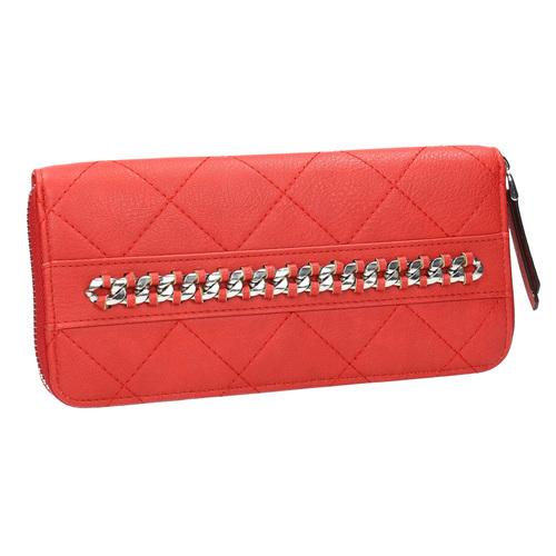Portafoglio rosso con catenina bata, rosso, 941-5146 - 13