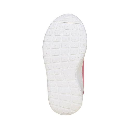 Sneakers rosa da bambina, rosso, 229-5192 - 26