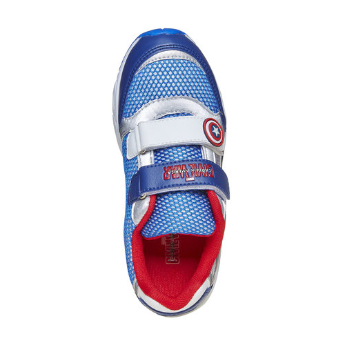 Sneakers da bambino con motivo, blu, 319-9254 - 19