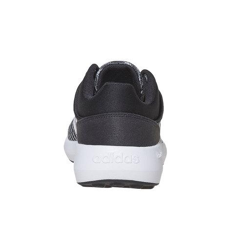 Sneakers sportive da donna adidas, nero, 509-6173 - 17
