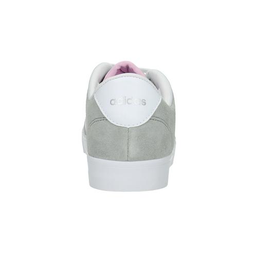 Sneakers da donna in pelle adidas, grigio, 503-2195 - 17