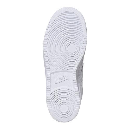 Sneakers bianche con perforazioni nike, bianco, 501-1333 - 26