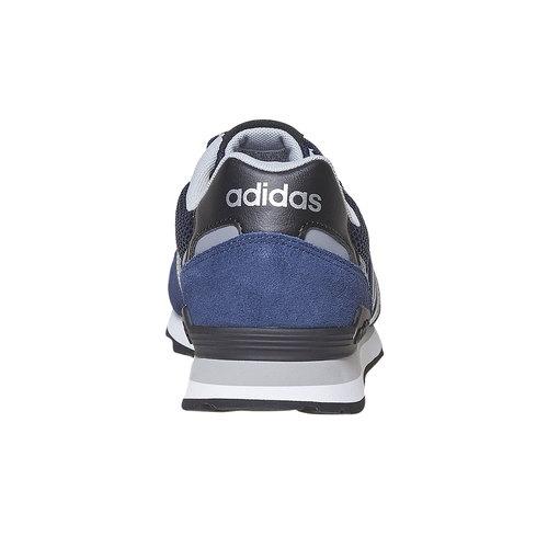 Sneakers in pelle da uomo adidas, blu, 803-6193 - 17