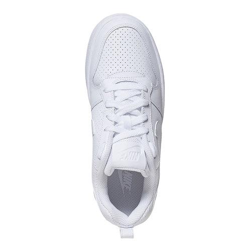 Sneakers bianche con perforazioni nike, bianco, 501-1333 - 19