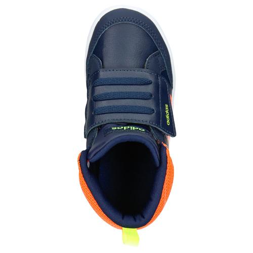 Sneakers da bambino sopra la caviglia adidas, blu, 101-9253 - 19