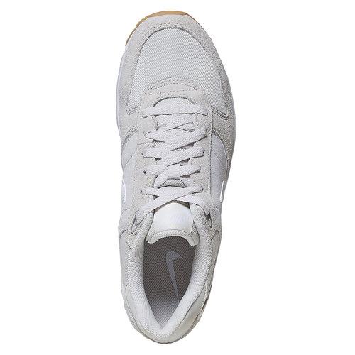 Sneakers da uomo in pelle nike, beige, 803-2152 - 19