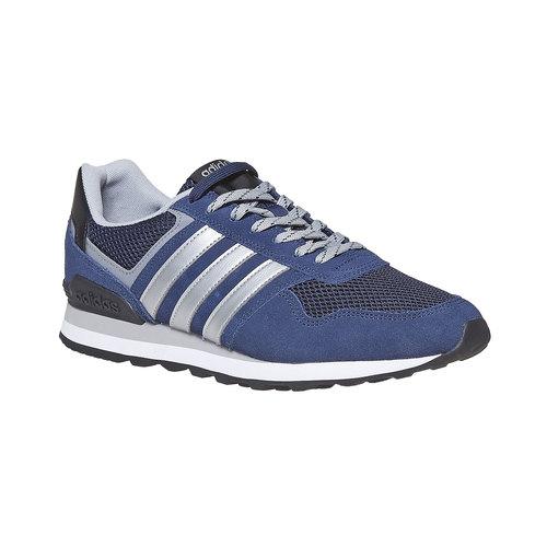 Sneakers in pelle da uomo adidas, blu, 803-6193 - 13