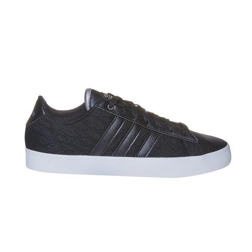 Sneakers nere da donna con pizzo adidas, nero, 509-6195 - 15