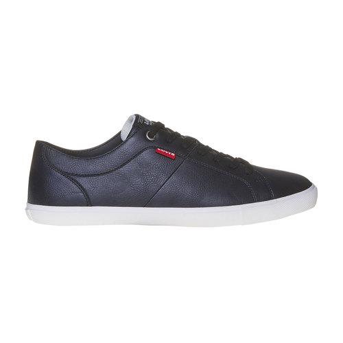Sneakers da uomo levis, nero, 841-6513 - 15