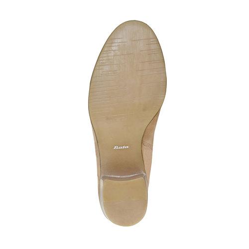 Stivaletti da donna bata, beige, 694-8394 - 26