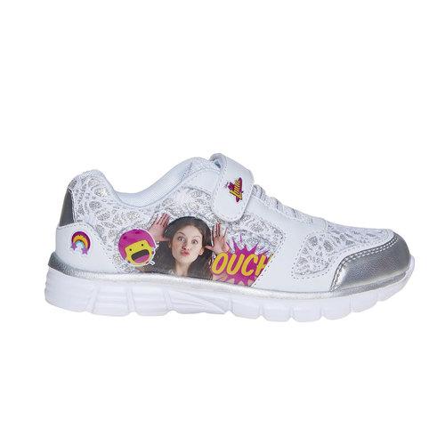 Sneakers da bambina, grigio, 329-2258 - 15
