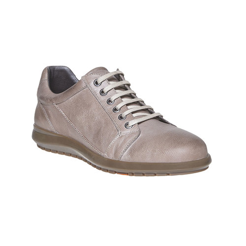 Sneakers in pelle da uomo flexible, grigio, 844-2709 - 13