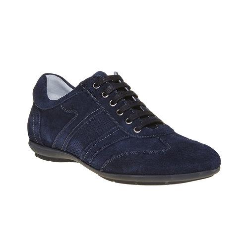 Sneakers in pelle da uomo bata, blu, 843-9381 - 13