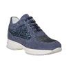 Sneakers casual da donna bata, blu, 523-9583 - 13