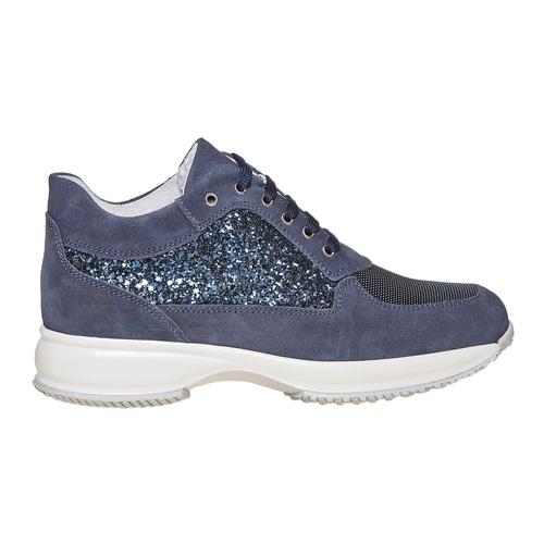 Sneakers casual da donna bata, blu, 523-9583 - 15
