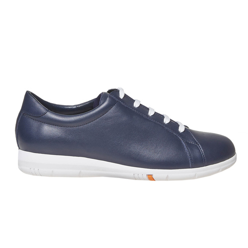 Sneakers da donna in pelle flexible, blu, 524-9597 - 15