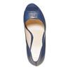 Décolleté blu con punta aperta bata, blu, 724-9721 - 19