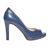 Décolleté blu con punta aperta bata, blu, 724-9721 - 15