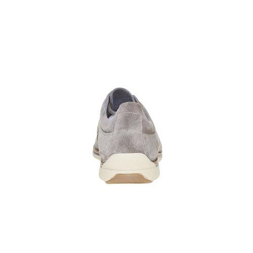 Sneakers informali di pelle bata, beige, 843-1297 - 17