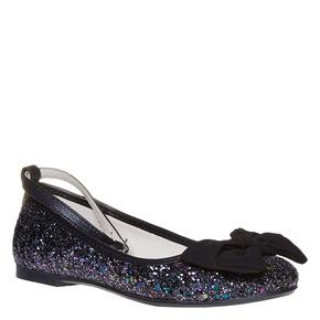 Ballerine da ragazza con glitter mini-b, nero, 329-6177 - 13