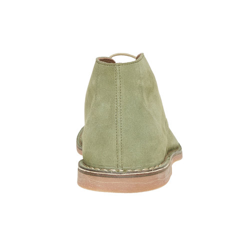 Scarpe di pelle in stile Desert Boots bata, verde, 843-7267 - 17