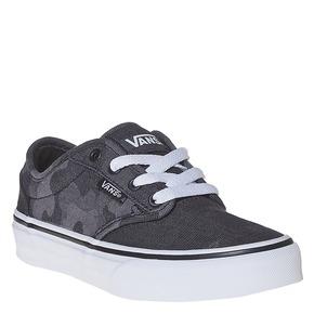 Sneakers da bambino con motivo vans, nero, 489-6101 - 13