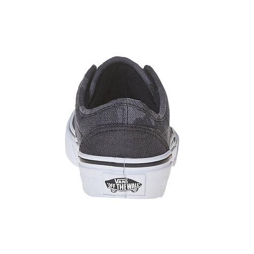 Sneakers da bambino con motivo vans, nero, 489-6101 - 17