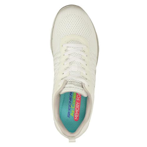 Sneakers con memory foam skechers, bianco, 509-1965 - 19