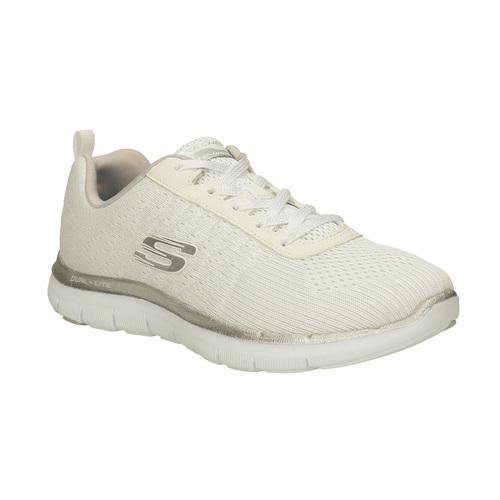 Sneakers con memory foam skechers, bianco, 509-1965 - 13