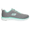 Sneakers con memory foam skechers, grigio, 509-2965 - 15