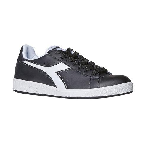 Sneakers informali da uomo diadora, nero, 801-6179 - 13