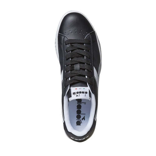 Sneakers informali da uomo diadora, nero, 801-6179 - 19