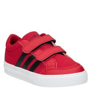 Sneakers rosse con chiusure a velcro adidas, rosso, 189-5119 - 13