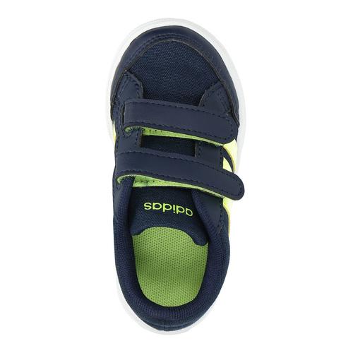 Sneakers da ragazzo con chiusure a velcro adidas, blu, 189-8119 - 19