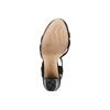 Sandali con tacco quadrato insolia, nero, 769-6700 - 19