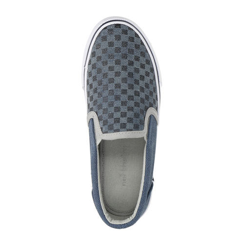 Slip-on da bambino con motivo north-star, blu, 319-9247 - 19