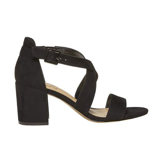 Sandali neri da donna insolia, nero, 769-6213 - 15