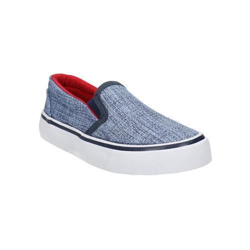 Scarpe da bambino in stile Slip-on, blu, 219-9160 - 13