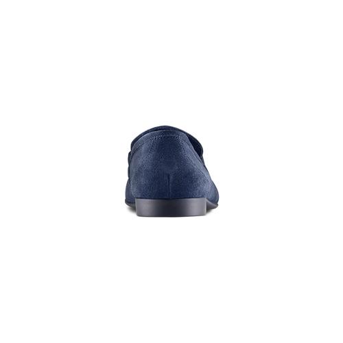 Mocassini in pelle flexible, blu, 853-9172 - 15