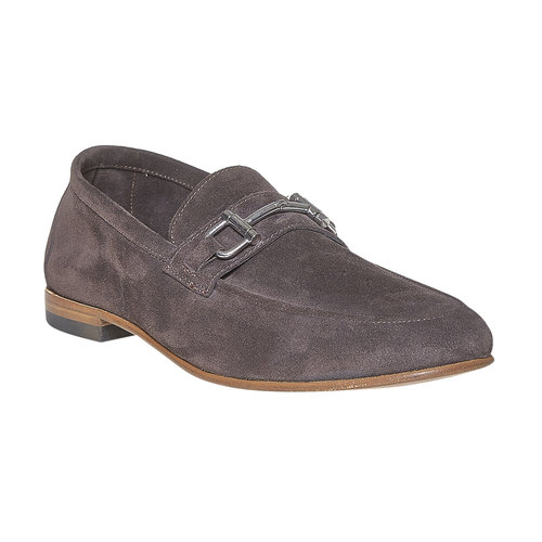 Mocassini da uomo in pelle bata-the-shoemaker, marrone, 853-4269 - 13