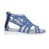 Sandali blu da ragazza con strass mini-b, blu, 363-9216 - 15