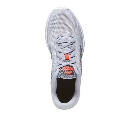 Sneakers sportive da bambino nike, grigio, 409-2149 - 19