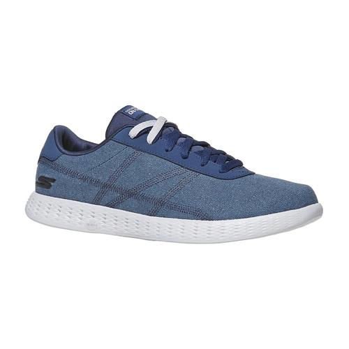 Sneakers blu da uomo skechers, blu, 889-9234 - 13