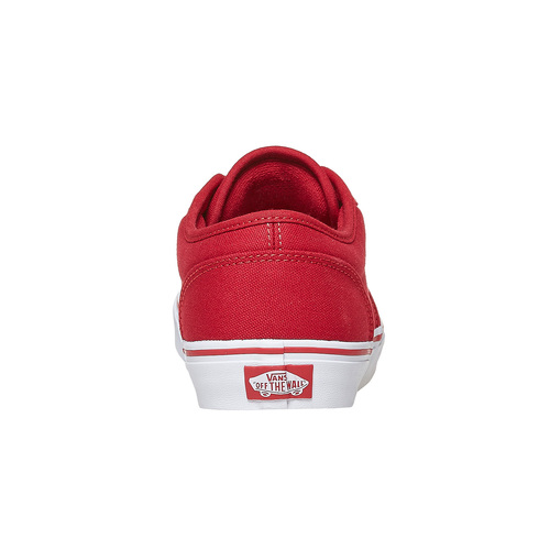 Sneakers rosse da uomo vans, rosso, 889-5560 - 17